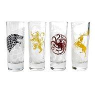 Game Of Thrones Sigil – štamprlíky (4×) - Poháre na studené nápoje
