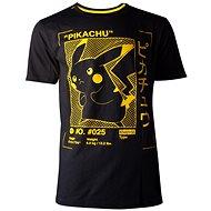 Pokémon: Pikachu Profile, tričko XXL - Tričko