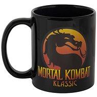 Mortal Kombat Logo Heat Mug – hrnček - Hrnček