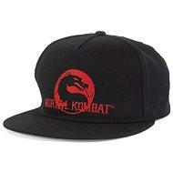 Mortal Kombat Dragol Logo Snapback - kšiltovka - Kšiltovka