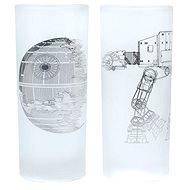 Death Star & AT-AT Walker – 2× poháre - Poháre na studené nápoje
