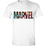 Marvel Characters Logo tričko - Tričko
