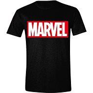 Marvel Box Logo tričko - Tričko
