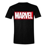 Marvel Box Logo tričko L