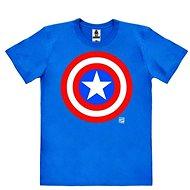 Captain America Logo - tričko L - Tričko