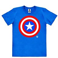 Captain America Logo - tričko M - Tričko