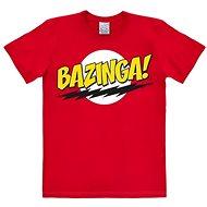 Tričko Bazinga Logo – tričko M