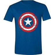 Captain America Cracked Shield – tričko XXL - Tričko