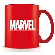 Marvel Logo červené – hrnček