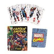 Marvel Comics Book – hracie karty - Karty