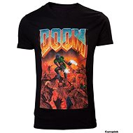 DOOM Classic Box Art tričko - Tričko