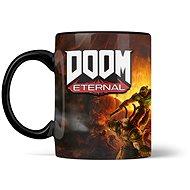 Doom Metal Badge Heat Mug - hrnek - Hrnček