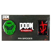 Doom 3 Pin Badge Set - odznak - Prívesok