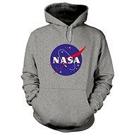 NASA Logo Sivá Mikina - Mikina