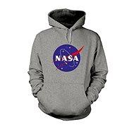 NASA Logo Sivá Mikina S - Mikina