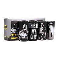 Batman Poses - 4x sklenice - Poháre na studené nápoje