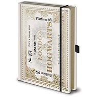 Harry Potter Hogwarts Express Ticket - zápisník - Zápisník