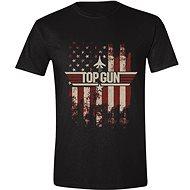 Top Gun: Distressed Flag tričko - Tričko