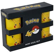 Pokémon - Pikachu Set - espresso set 4ks