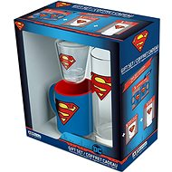 Superman set - hrnek, sklenice, panák - Darčeková sada