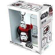 Star Wars - Stormtrooper - mini hrnek, sklenice, přívěšek - Darčeková sada