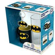 Batman set - hrnek, sklenice, přívěsek