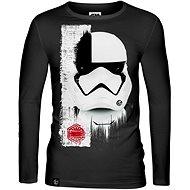 Star Wars: Trooper Mask, tričko s dlhým rukávom S - Tričko