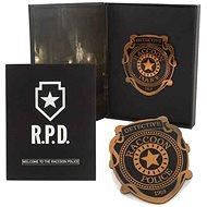 Resident Evil R.P.D. Pin Badge – odznak - Darčeková sada