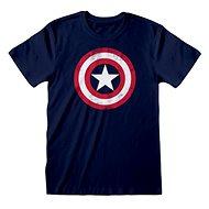 Captain America – Shield Distressed tričko - Tričko