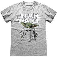 Star Wars Mandalorian – The Child Sketch tričko L - Tričko