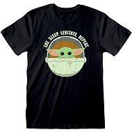 Star Wars Mandalorian – Eat Sleep Levitate tričko - Tričko