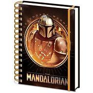 Star Wars – Mandalorian: Bounty Hunter – zápisník s krúžkovou väzbou - Zápisník