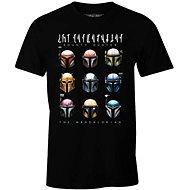 Star Wars Mandalorian: Bounty Hunters, tričko S - Tričko