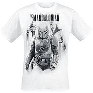 Star Wars: Mandalorian VS Stormtroopers tričko M - Tričko