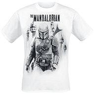 Star Wars: Mandalorian VS Stormtroopers, tričko - Tričko