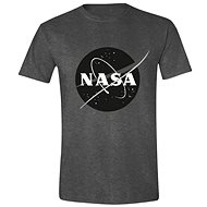 NASA Black Logo tričko