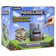 Minecraft – Build a Level – hrnček s nálepkami - Hrnček