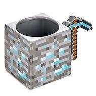 Minecraft – Pickaxe – keramický 3D hrnček - Hrnček