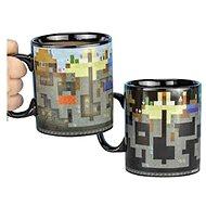 Hrnček Minecraft – Levels – premeňovací hrnček