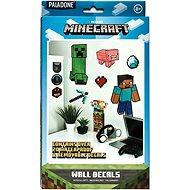 Minecraft – samolepky na stenu 19 ks - Samolepka