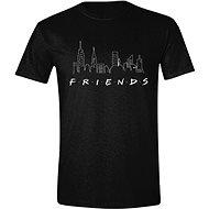 Friends: Logo and Skyline, tričko S - Tričko