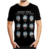 Tričko Rick and Morty – Emotions – tričko