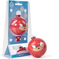 Sonic the Hedgehog – Knuckles – kovová banka - Vianočné ozdoby