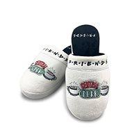 Šľapky Friends - Central Perk - Papuče, veľ. 38 - 41, biele