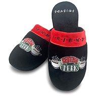 Friends – Central Perk – papuče veľ. 38 – 41 čierne - Šľapky