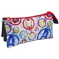 Marvel Avengers – Logo – peračník na písacie potreby trojitý - Puzdro do školy