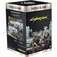 Cyberpunk 2077: Metro – Good Loot Puzzle - Puzzle
