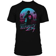 Tričko Cyberpunk 2077 – Night City – tričko S