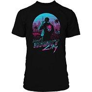 Cyberpunk 2077 – Night City – tričko XXL - Tričko
