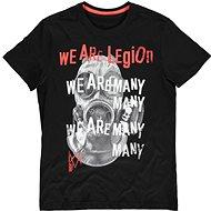 Tričko Watch Dogs Legion – We Are Many – tričko L